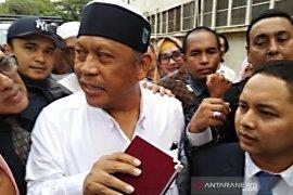 Eggi Sudjana ditangkap saat jalani pemeriksaan
