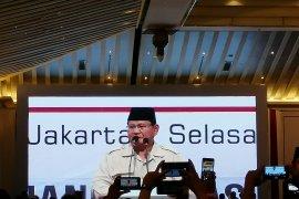 Gerindra: Prabowo belum berencana ketemu Jokowi