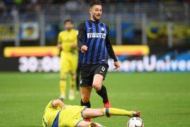 Inter Milan amankan posisi ketiga setelah tekuk Cheivo 2-0