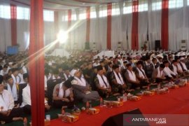 Panglima minta prajurit TNI dan anggota Polri harus selalu kompak