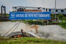 Terowongan kereta cepat di Walini Bandung Barat diresmikan Menteri BUMN