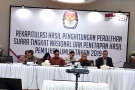 KPU Selasa rekapitulasi suara sembilan provinsi