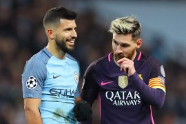 Sergio Aguero klarifikasi hoaks soal Lionel Messi