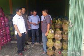 Pelanggaran oleh pangkalan gas LPG di Batanghari masih kerap terjadi