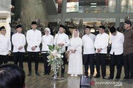 Anies tidak datang rapat perdamaian jelang 22 Mei karena hadiri syukuran