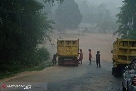 Tiga desa dilanda banjir di Bengkulu Tengah
