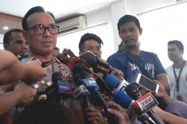 Total sembilan terduga teroris ditangkap di Jateng dan Jatim