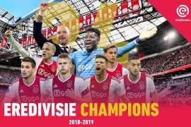 Ajax pastikan gelar juara ke-34 Liga Belanda setelah kalahkan De Graafschap
