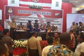Rekapitulasi suara pemilu di Papua Barat selesai