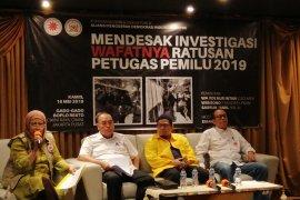 Pemerintah didesak bentuk Tim Investigasi telusuri  kematian KPPS