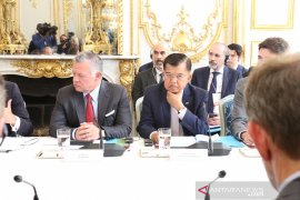 "Wapres sampaikan tiga fokus dalam forum ""KTT Paris: Ekstremisme Online"""