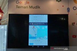 Google Maps terintegrasi situs info mudik