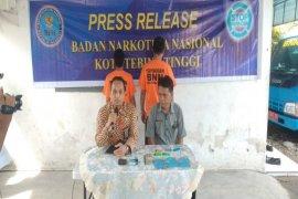 BNNK Tebing Tinggi bekuk oknum TNI, ASN dan swasta pengguna sabu