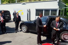 Wapres Jusuf Kalla tinggalkan Jenewa menuju Doha