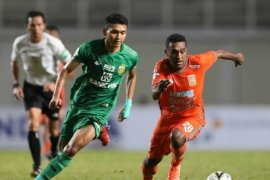 Borneo tahan imbang Bhayangkara FC 1-1