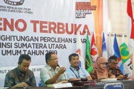 KPU Sumut lanjutkan pleno rekapitulasi suara  pemilu
