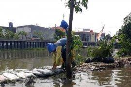 Dinas PUPR Tangerang tinggikan tanggul Kali Ledug upaya atasi banjir