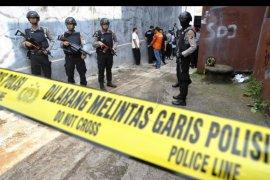 Olah TKP penangkapan teroris