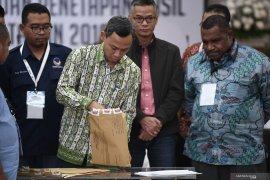 """Debat soal """"noken"""" muncul pada rekapitulasi Pemilu di Papua Barat"""