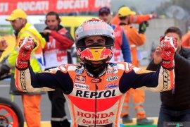 Marc Marquez menang di GP Prancis, Rossi peringkat 5