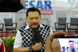 "Hendropriyono: kekuatan massa pendukung Prabowo-Sandi sudah ""ompong"""