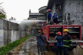 Satu unit rumah terbakar di Medan, tidak ada korban jiwa