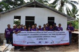 30 Huntara untuk Lombok