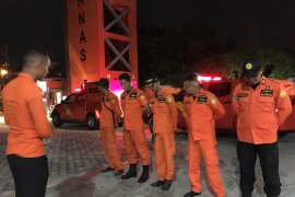 Basarnas Jambi cari dua korban tenggelam di Sungai Batanghari