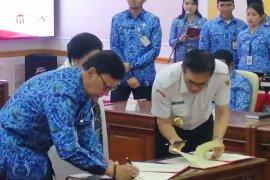 BPIP-Kemendagri tandatangani MoU  pembinaan ideologi Pancasila