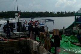 KSOP Pangkalbalam evakuasi ratusan penumpang kapal kandas