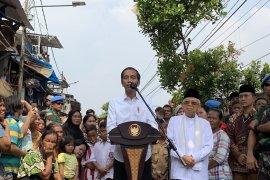 Capres Jokowi ingin bersilaturahmi dengan Prabowo-Sandi
