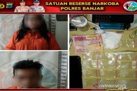Polres Banjar menangkap sepasang kekasih edarkan sabu-sabu