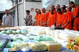 BNN amankan 35 kg sabu yang disembunyikan tumpukan sayur