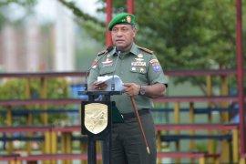 Pangdam XII/Tpr Pimpin Upacara Harkitnas Ke-111 di Makodam