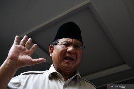 Capres Prabowo Subianto minta pendukungnya akhiri aksi massa