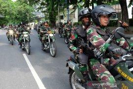 Patroli keamanan di Sumut