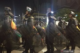 Lima peleton Kodam Jaya tiba  di Gedung Bawaslu