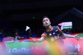 Tiga tunggal putra Indonesia lolos perempat final Japan Open 2019