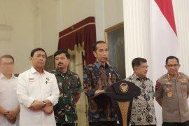 Jokowi tanggapi usulan mempercepat pertemuan dengan Prabowo