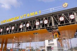 Pengoperasian gerbang tol Cikampek utama