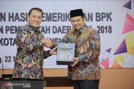 Kota Tangerang dapat opini  WTP ke-12 berturut-turut