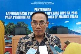 BPK serahkan LHP 10 kabupaten/kota di Malut