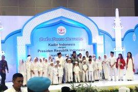 Jokowi hadiri buka puasa bersama dengan Kadin