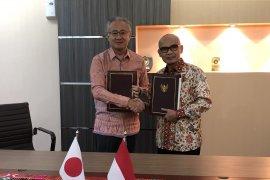 Jepang beri dana hibah rekonstruksi dan penanggulangan bencana Indonesia