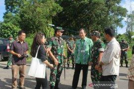 Pangdam II/Sriwijaya kunjungi relokasi Makorem 045/Gaya