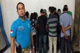 15 Orang terjaring operasi pekat BNNK Tebing Tinggi