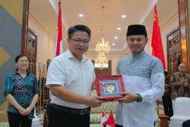 Bima Arya sambut kunjungan Wakil Wali Kota Dongxing China