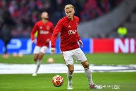 Gagal di Liga Champions, De Beek ingin sukses bersama Timnas Belanda