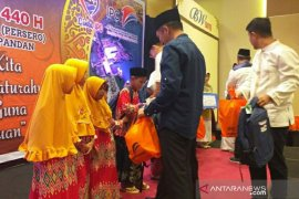 IPC Tanjung Pandan berikan santunan kepada anak yatim piatu