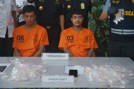 Suami istri dituntut 15 tahun karena miliki 37 paket sabu